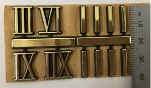 Picture of NUMERALS - ROMAN GOLD - 15mm