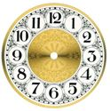 Picture of CLOCKFACE - ARABIC (Round 15.5cm diam)
